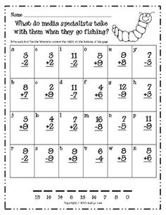 First Grade a la Carte: Halloween addition and subtraction codes Halloween Riddles, Halloween Math Worksheets, Halloween Activities, Math Activities, Holiday Activities, Math Resources, Halloween Party, First Grade Classroom, Second Grade Math