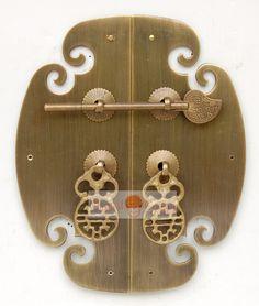 poignée de meuble vintage de clé shapefor armoire armoire antique pull