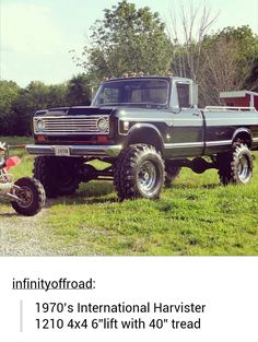 You don't hear about International Harvester trucks very much