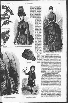 Gracieuse. Geïllustreerde Aglaja, 1886, aflevering 21, pagina 165