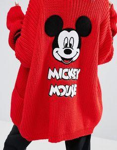 Lazy Oaf | Lazy Oaf X Disney Mickey Mouse College Cardigan