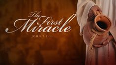 The First Miracle was a Wedding Miracle