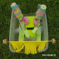 Mamagie: Selbst gemachte Spielzeug-Waschanlage