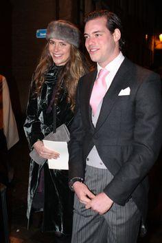 Prince Félix of Luxembourg, with Princess Maria Anunciata of Liechtenstein