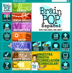 Eduteka - BrainPOP, cientos de contenidos educativos en video