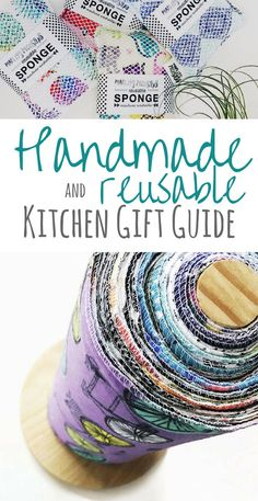 Handmade and Eco-Friendly Home Gift Guide (updated for 2020 Looking for practical and eco-friendly gifts this holiday season? Here are some fun handmade and reusable kitchen gifts for mom - or any kitchen lover! Home Gifts, Diy Gifts, Gifts For Mom, Handmade Gifts, Environmentally Friendly Gifts, Diy Cadeau Noel, Green Living Tips, Eco Friendly House, Kitchen Gifts