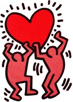 Keith Haring ❤️