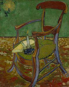 De stoel van Gauguin, 1888, Vincent van Gogh, Van Gogh Museum, Amsterdam (Vincent van Gogh Stichting)