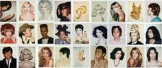 Warhol's polaroids included pop icons like Debby Harry, Mick Jagger, Mohammad Ali, and Jean-Michel Basquiat. Photo: itscoolthat.com