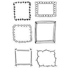 How to Doodle Hand Drawn Frames