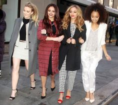Little Mix's Perrie Edwards, Jesy Nelson, Jade Thirlwall and Leigh-Anne Pinnock
