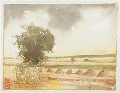 Landscape by Jerzy Duda-Gracz