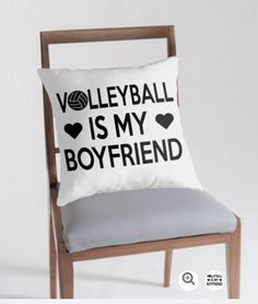 Cool volleyball pillow