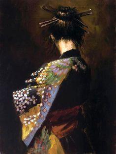 New Geisha - Fabian Perez #art #painting