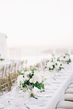 Floral Design: Betty Flowers Santorini - http://www.bettyflowerssantorini.gr Event Planning: Santorini Glam Weddings - http://santoriniglamweddings.com Event Design: Santorini Glam Weddings - http://www.santoriniglamweddings.com   Read More on SMP: http://www.stylemepretty.com/2017/03/15/santorini-modern-minimalist-wedding/