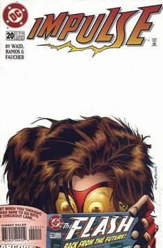 Impulse (1995) 20DC Comic Book cover Modern Age