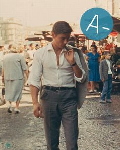 Alain Delon in 'Purple Noon', 1960. ~ Check out for more pins…