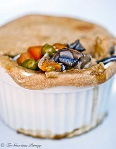 """Clean Eating Chicken Pot Pie. I suggest this site for anyone interested in practicing """"clean eating"""" this year. Many recipes and you can also follow her on Pinterest. She gives a great deal of information on what clean eating is all about and how to get started. Here's wishing you healthy eating in 2013!"""