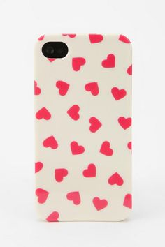 Fun Stuff Hearts iPhone 4/4s Case  #UrbanOutfitters