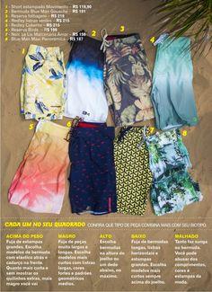 Baú da Moda Masculina: ESTILO: Sunga ou bermuda, veja o que fica melhor para você e aproveite o melhor desse verão.