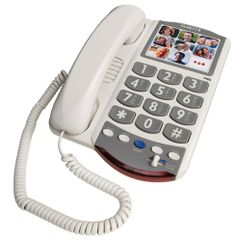 phones for elderly dementia | Picture Phone for Elderly - Amplified Big Button Phone for Seniors