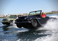 WaterCar Panther Amphibious Jeep It goes without saying that a Jeep Wrangler will always be a solid choice when it comes to the inevitable apocalypse. You can't go wrong when it comes to Jeep, but a Jeep that can quickly convert to a boat? Now that's a real winner