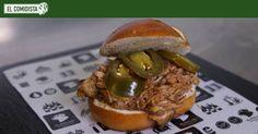 El  pulled pork  es el mayor éxito internacional de la cocina estadounidense desde la hamburguesa. Si quieres preparar este cerdo como en Carolina del Norte, sigue los consejos de nuestro experto. Brunch, Pulled Pork, Salmon Burgers, Hamburger, Slow Cooker, Beef, Cooking, Ethnic Recipes, Food