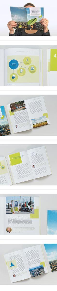 Städte auf Kurs Nachhaltigkeit – ein Bericht zur Stadt der Zukunft #sustainable #brochure #city #broschüre #editorialdesign