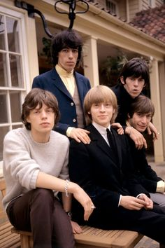 The Rolling Stones in 1964                                                                                                                                                                                 More