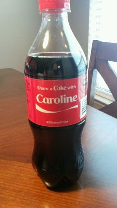 Coca Cola Share a Coke with Caroline