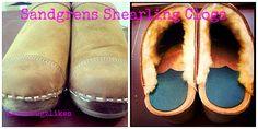 @Sandgrens Clogs #shearling #clogs