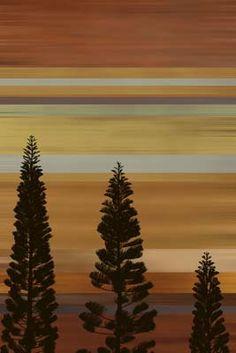 Sunset Tree Silhouette Mural - Matthew Lew| Murals Your Way