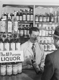"""Every liquor cabinet needs a few bottles of """"all purpose""""?"""