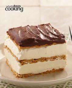"Graham Cracker Eclair ""Cake"" #recipe"