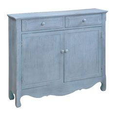 Nona Cupboard in Driftwood Blue