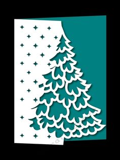 OVER THE EDGE CHRISTMAS TREE 6 by Apetroae Stefan With optional backing plate: With optional backing plate
