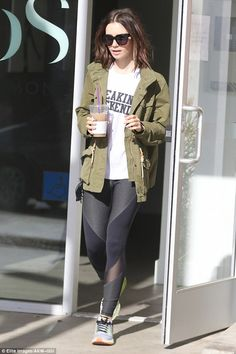 It's the Freakin Weekend: But there was no rest for busy actress Lily Collins, who wore a ...