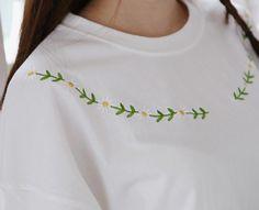 계란 꽃 티셔츠 * 3c