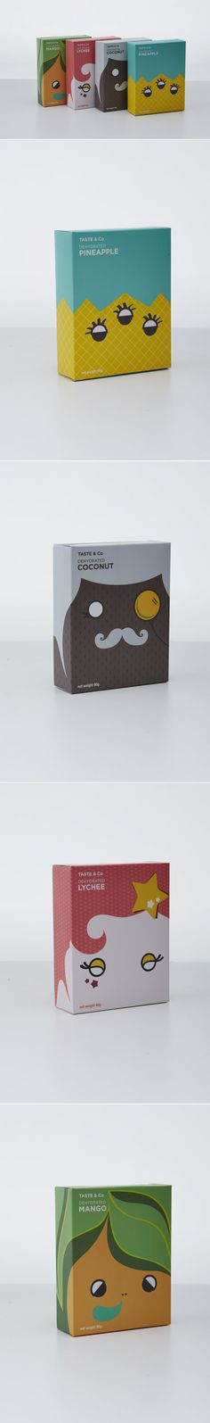Check Out This Adorable Packaging For Dried Fruits — The Dieline | Packaging & Branding Design & Innovation News