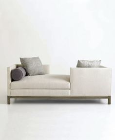 Jeffrey Alan Marks sofa for A Rudin. The perfect Sunday paper for two sofa. Furniture Styles, Sofa Furniture, Find Furniture, Furniture Design, Chaise Sofa, Sectional Sofa, Couches, Sofa Design, Chairs