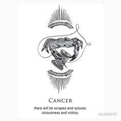 Musterni, shitty horoscopes stickers, cancer