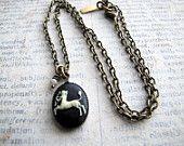 Sagittarius Locket, Zodiac Jewelry, Zodiac Locket. $32.50, via Etsy.