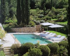 Peaceful swimming pool # provence # swimming pools # swimming pool designs