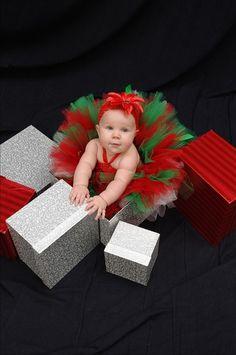 Christmas tutu set with crochet top size babies up by sophiastutus, $45.00