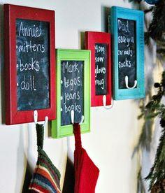 Best 25+ Stocking holders ideas on Pinterest   Diy ...