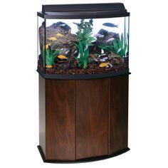 Marineland 10 gallon biowheel led aquarium kit fish for 10 gallon fish tank hood