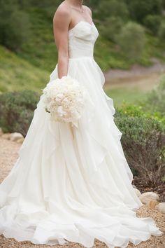 wedding dress idea; photo: Melissa Musgrove Photography