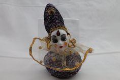 Clown w/Porcelain Head & Painted Face Lot Clowns, Porcelain, Amp, Ebay, Women, Porcelain Ceramics, Imperial Crown, Tableware, Woman