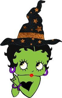 Betty Boop Witch.