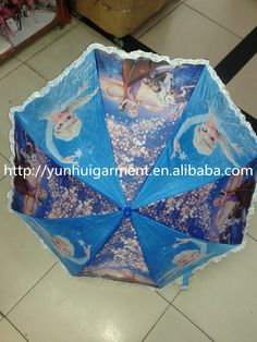 Frozen Anna and Elsa umbrella accessories Frozen Anna and Elsa Umbrella footwear frormm http://yunhuigarment.en.alibaba.com